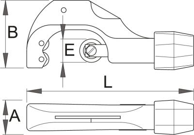 חותך צינורות Unior דגם 360/6