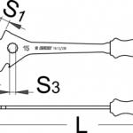 מפתח פדלים מקצועי Unior דגם 1613/2bi