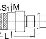 חולץ גלגל שרשרת (קראנק) לציר משונן Unior דגם 1661/4