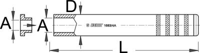 כלי להרכבת Crown Race אוניברסלי Unior דגם 1683/4A