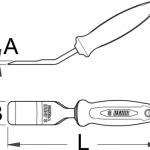 מפסק רפידות דיסק Unior דגם 1750/2BI