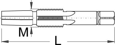 זוג מברזים להכנת זרועות קרנק לתותב Unior דגם 1695.2