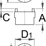 מפתח פריילוף לשימנו קצר Unior דגם 1670.5/4