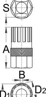 מפתח פריילוף לשימנו ארוך Unior דגם 1670.1/4