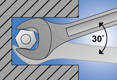 מפתחות פתוחים דגם Unior 110/1
