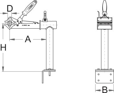 מתקן הרכבה לאופניים עם חיבור לקיר Unior דגם 1693.2s