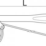 כלי לפתיחת בולמים עם רצועה Unior דגם 1705/2