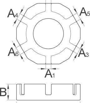מפתח שפיצים Unior דגם 1631/2