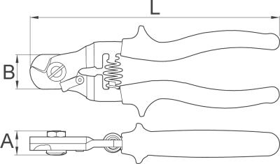 קאטר כבלים Unior 584/2 POLLY