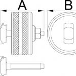 חולץ מיסבי BB90 לציר מרכזי Unior דגם 1625/2BB90
