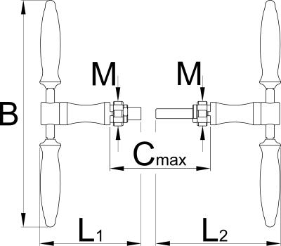 כלי לתיקון הברגות ציר מרכזי Unior דגם 1967