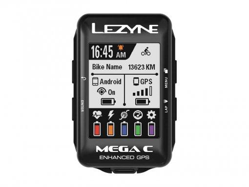 מחשב רכיבה GPS Lezyne Mega C y12
