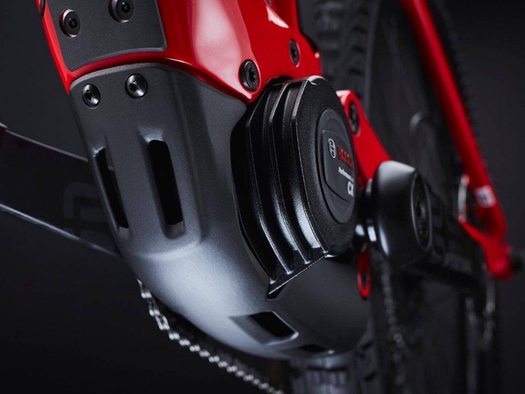 מנוע Bosch על אופני Trek