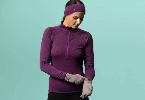 חולצת רכיבה לנשים לחורף Bontrager Vella Thermal Jersey