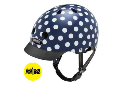 קסדה Nutcase Street MIPS Navy Dots