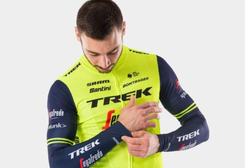 מחממי ידיים Santini Trek-Segafredo Men's Team Arm Warmers
