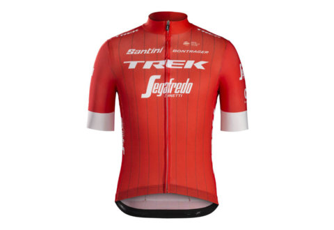 חולצת רכיבה Santini Trek-Segafredo Men's Team Replica
