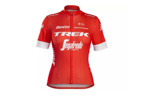 חולצת רכיבה Santini Trek-Segafredo Women's Team Replica