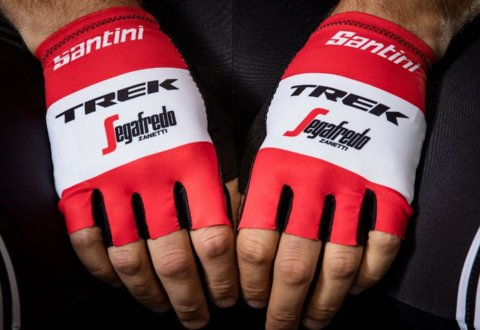 כפפות רכיבה Santini Trek-Segafredo Men's Team V19