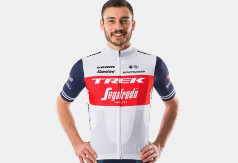 חולצת רכיבה Santini Trek-Segafredo Men's Team Replica V20