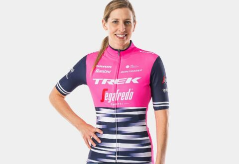 חולצת רכיבה לנשים Santini Trek-Segafredo Women's Team Replica V20