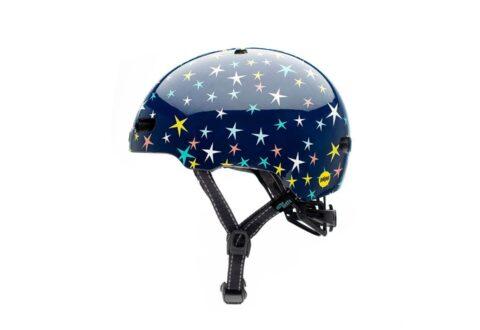 קסדה לילדים ונוער Nutcase Little Nutty Mips כחול כוכבים Stars Are Born