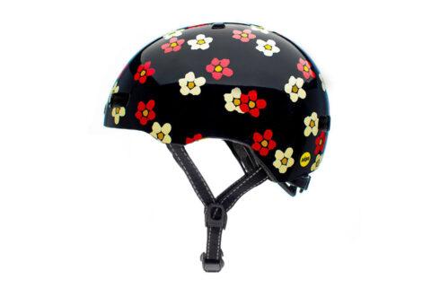 קסדה Nutcase Street MIPS שחור-פרחים Fun For All