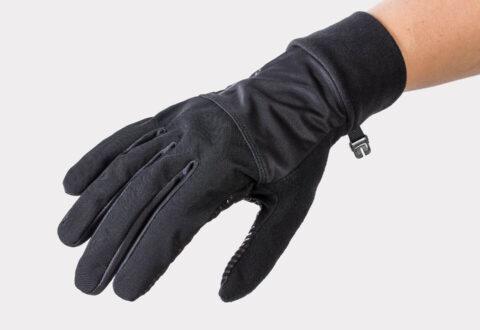 כפפות רכיבה לנשים לחורף Bontrager Circuit Windshell V21