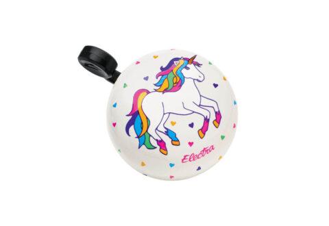 פעמון אלקטרה Domed Ringer לבן Unicorn