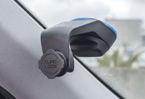 תושבת לרכב בואקום Quad Lock Car Mount