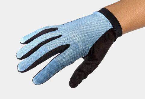 כפפות רכיבה ארוכות לנשים Bontrager Evoke FF V21 Azure
