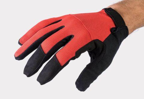 כפפות רכיבה ארוכות Bontrager Quantum FF V20 - Red