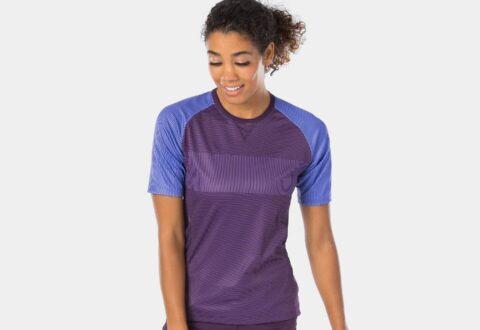 Bontrager Rhythm Womens Mountain Tech Tee Violet-Mulbery (1)