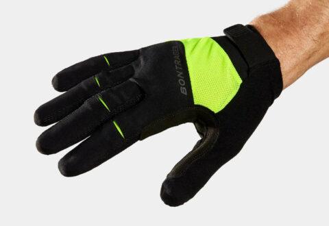 Circuit Full Finger Glove Twin Gel Yellow (1)